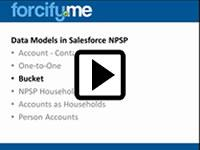 forcify.me individual bucket data model of NPSP