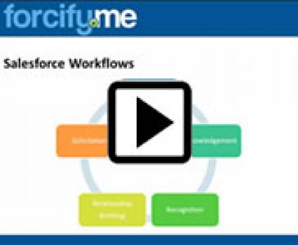 Donation Workflows in Salesforce