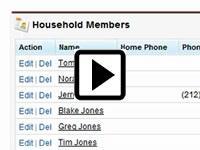 forcify.me households in NPSP